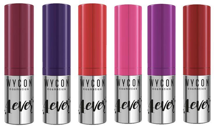 Wycon 4 Ever Lipstick: rossetti liquidi glossy no transfer - https://www.beautydea.it/wycon-4-ever-lipstick-rossetti-liquidi-glossy-no-transfer/ - Labbra brillanti dal colore intenso e no transfer assicurato con i nuovi 4 Ever Lipstick Wycon Cosmetics!