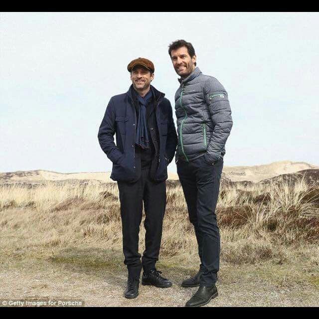 Patrick Dempsey & Mark Webber in Germany.