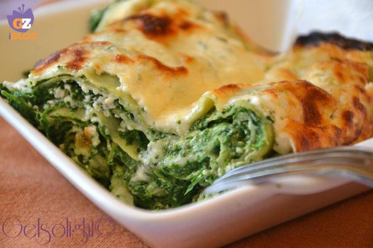 Lasagne spinaci e ricotta, ricetta light