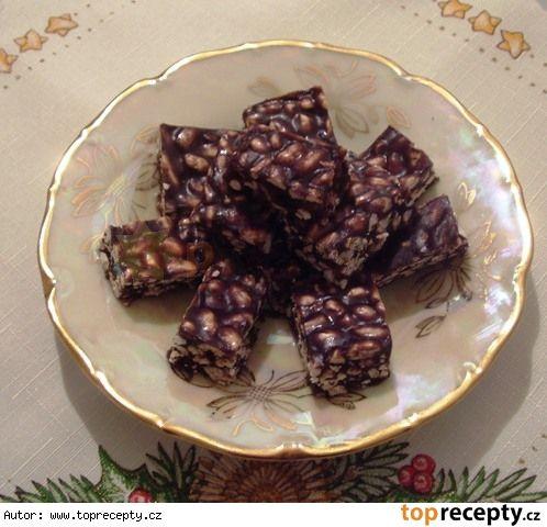 Cukroví - Burizonové kostky
