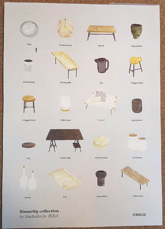 sinnerlig collection overview ilse crawford for ikea in stores in august 2015 great products. Black Bedroom Furniture Sets. Home Design Ideas