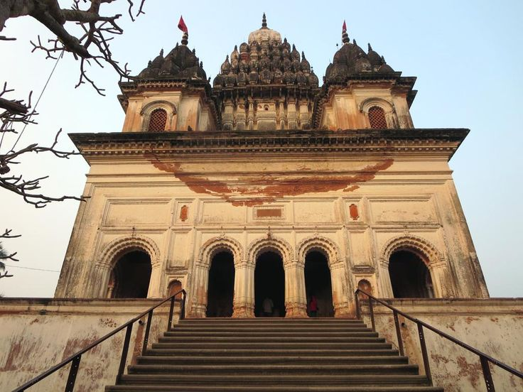 The Shiva Temple (1823) in Puthia, Bangladesh, contains a large phallic Shiva lingam.