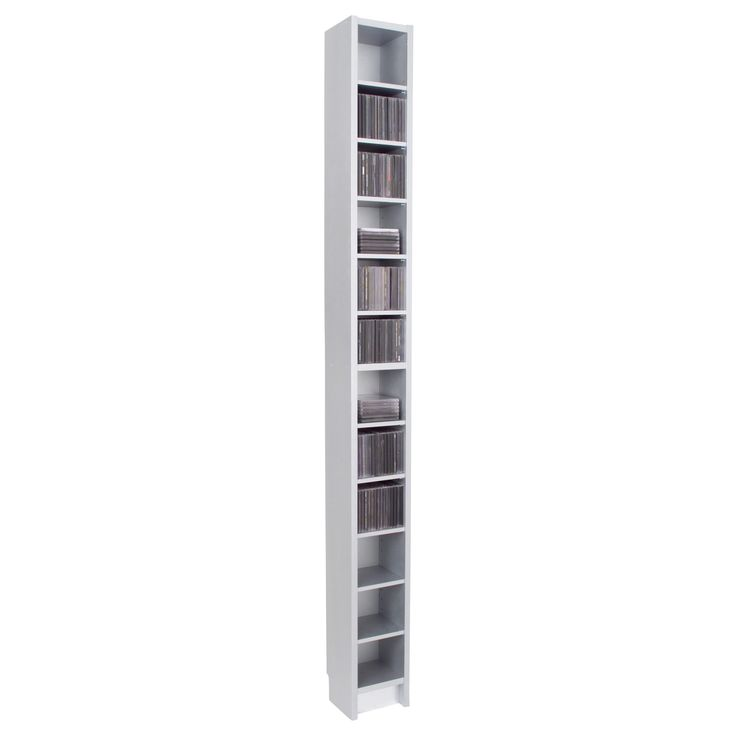 Benno dvd tower white ikea my bathroom storage two - Ikea porta cd billy ...