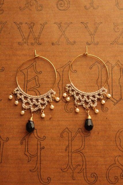 miyachika rev crochet earrings もっと見る