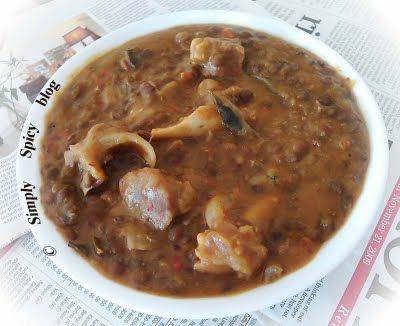 Simply Spicy: Masoor - Ma - Gosh