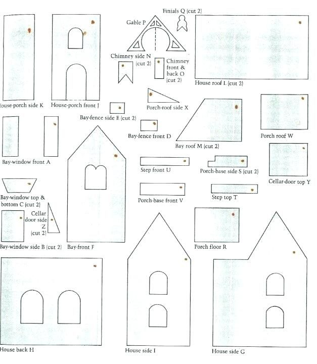 Victorian Gingerbread House Template Free Gingerbread House Template Gingerbread House Template Printable Gingerbread House Patterns