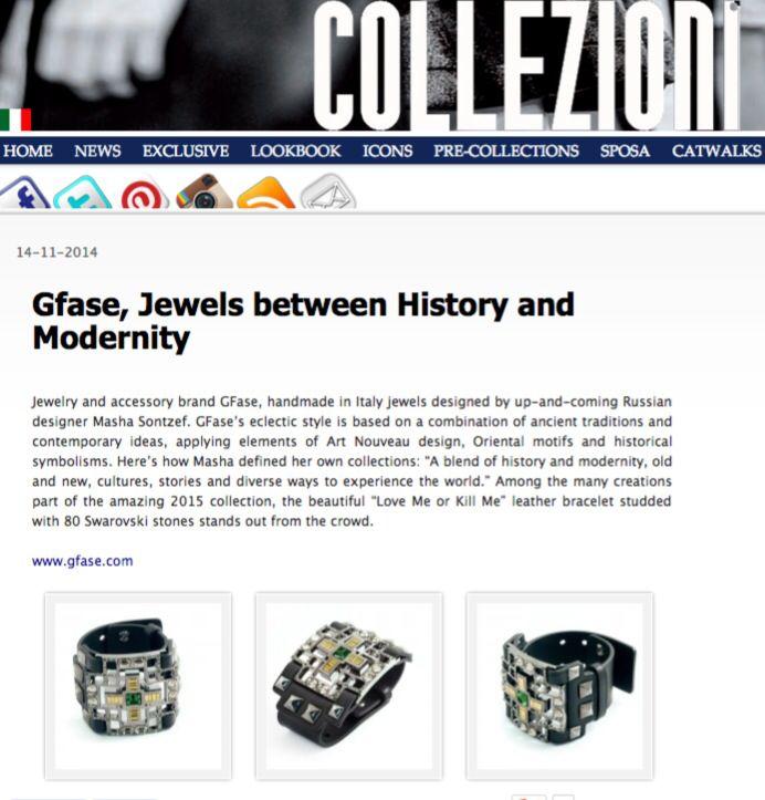 GFase fashion jewellery Bracelet