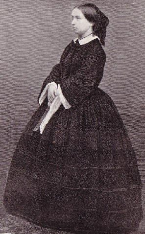 Queen Victoria in mourning 1862