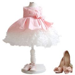Perfect Newborn Girls Vestidos,Layered Organza Ruffle Pageant Party Dresses,Infantil 1 years old Baby First Birthday Wear 021