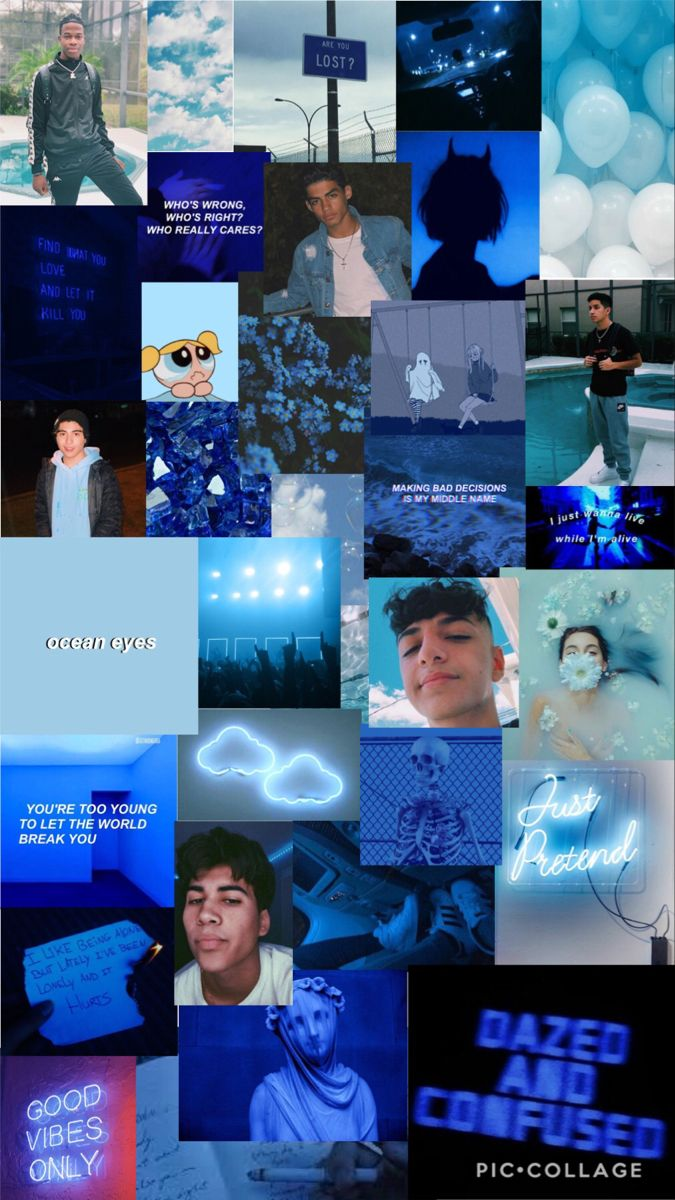 Blue Wallpaper Ft The Nj Boys Jersey Boys Blue Wallpapers Art Girl