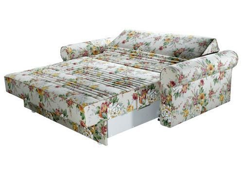 ספה נפתחת למיטה דו מושבית דגם קפוצ'ינו מבית סימונס - ספה דו מושבית נפתחת