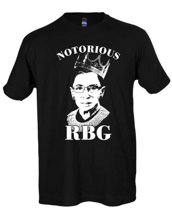 Notorious RBG Shirt - Notorious RBG T Shirt Hoodie Crewneck Sweatshirt - Ruth Bader Ginsburg Shirt - Feminist Shirt - RBG Shirt - Ruth Bader