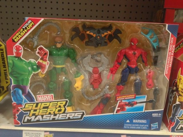 Marvel Mashers Doc Ock vs. Spider-Man Figures Pack