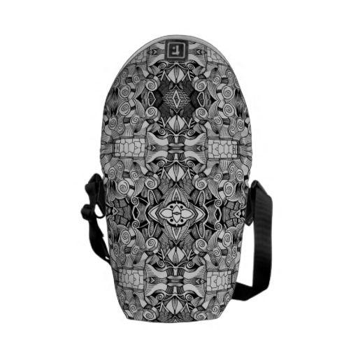 Abstarct design courier bags