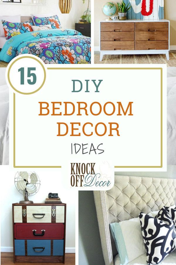 15 Diy Projects To Upgrade Any Bedroom Decor Diy Projects For