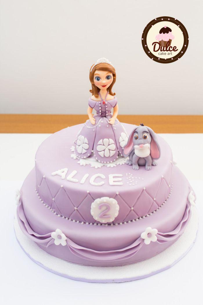 Torta Principessa Sofia #cakedesign #pdz #Sofia #cake