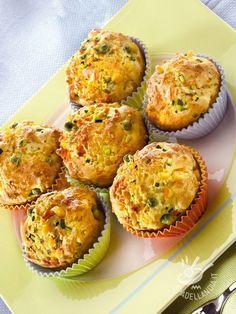 Muffins colorati alle verdure - Secondi / Torte salate e sformati @muffinsalati @muffin #muffinalleverdure