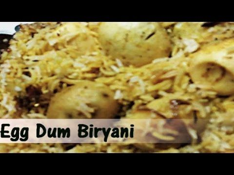 Easy Step by Step Egg Dum Biryani