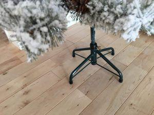 100均DIY♪セリアの材料だけで【畳んで収納できる!簡単木製クリスマスツリーカバーの作り方】ツリーをおしゃれに手作りカバーで目隠し♪クリスマスインテリアを楽しもう♪