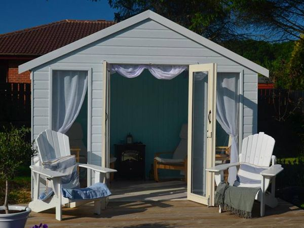 Tiger Contemporary Summerhouse   High Quality Wooden Summer House