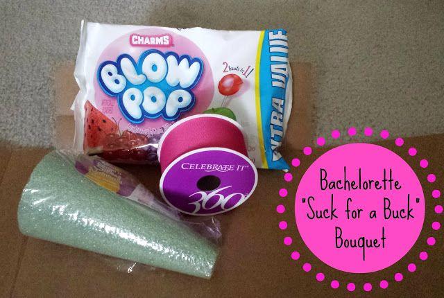 DIY Bachelorette Bouquet