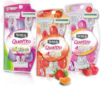 Head over to your nearest Target to pick up CHEAP Schick Quattro Disposable Razors! What a deal!   Click the link below to get all of the details  ► http://www.thecouponingcouple.com/cheap-schick-quattro-disposable-razors-at-target/