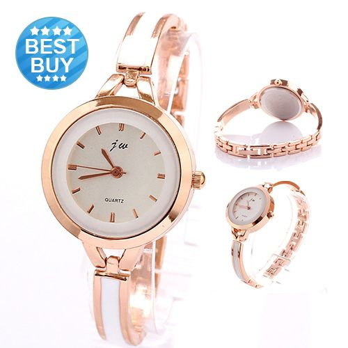 Find More Wristwatches Information about Relojes Freeshipping 2014 New Fashion Casual Luxury Brand Bracelet Watch White Rose Golden Women Dress Watches Relogio Feminino,High Quality watch part,China dress watches men Suppliers, Cheap watch luxury from Little Sunny home on Aliexpress.com