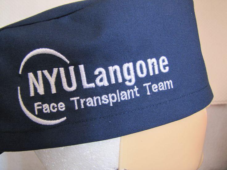 Johns Hopkins Bayview Medical Center embroidered on a Comfycaps Super Scrub  cap/surgical cap.   Custom Comfycaps   Pinterest