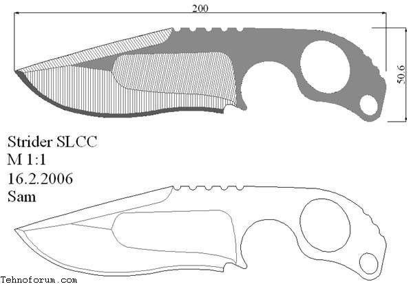 рисунок ножей для выпиливания из фанеры свете