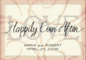 Free Wedding Cross Stitchings | HAPPILY EVER AFTER WEDDING RECORD