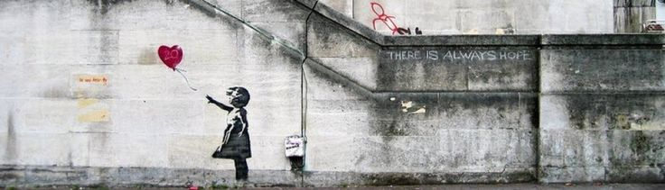 BANKSY! - The ballon girl