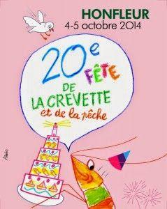 Le Domaine du Martinaa - Gite en Normandie: Fete Crevette Honfleur 2014
