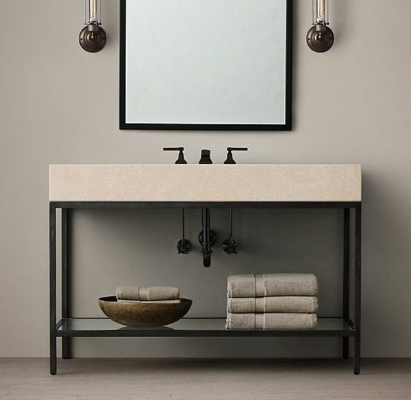 Die besten 25+ Doppelwaschbecken badezimmer Ideen auf Pinterest - badezimmer doppelwaschbecken