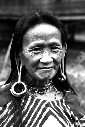 Penan woman