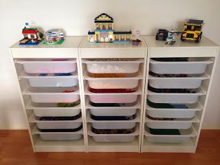 Our lego storage system, by Paper & Confetti
