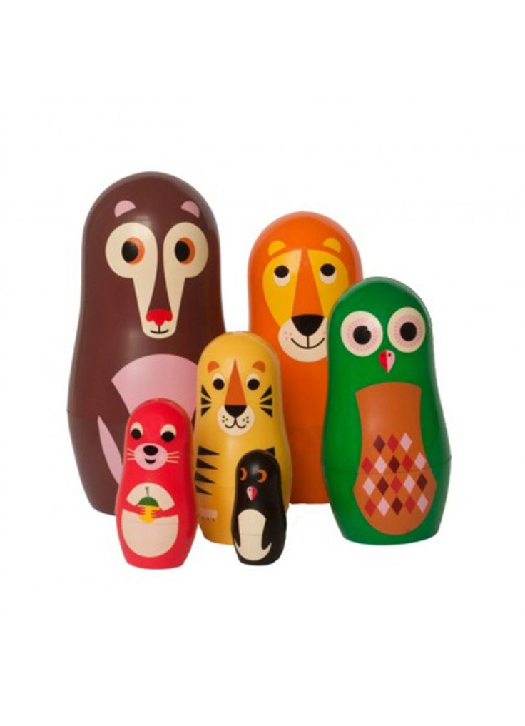Animal Nesting Dolls : Fawn Shoppe - Global Boutique For Unique Children's Designs