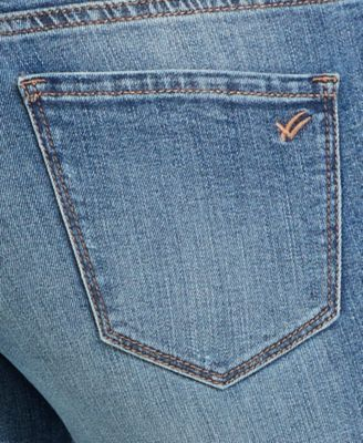 William Rast Embroidered Perfect Skinny Jeans - Blue 29