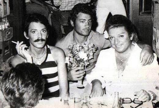 Bodrum, 1970'ler Zeki Müren ve Cemil İpekçi.
