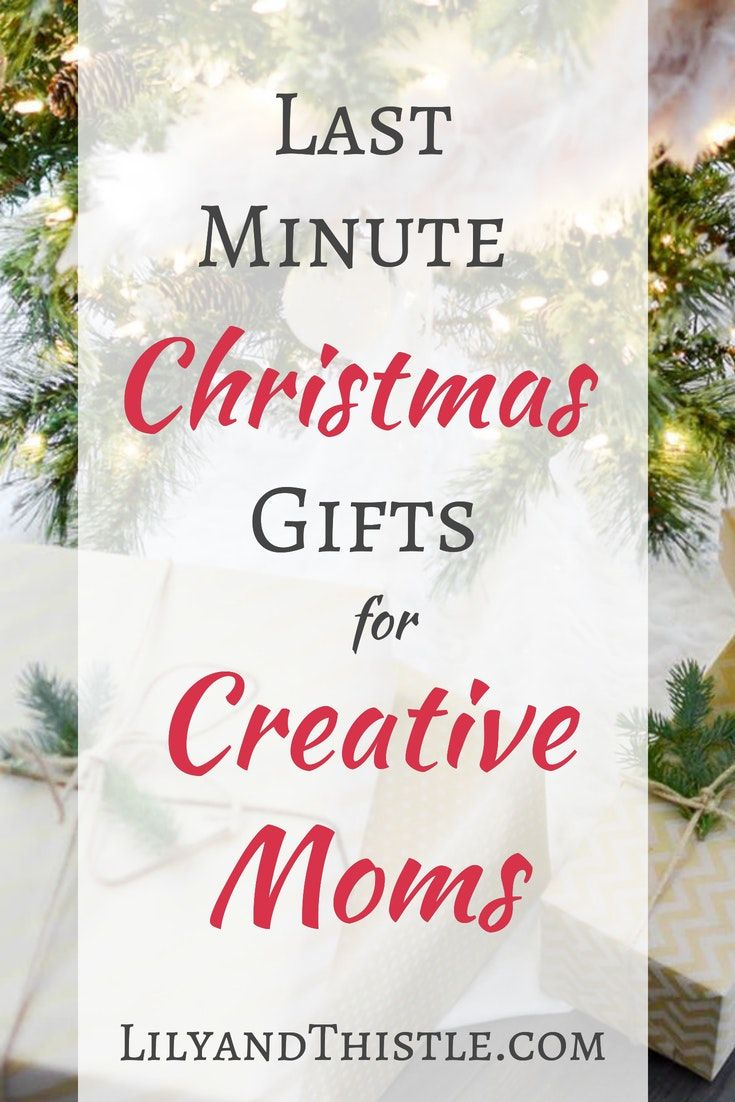 Last Minute Gift Ideas for Creative Moms | Art Habit for Moms ...