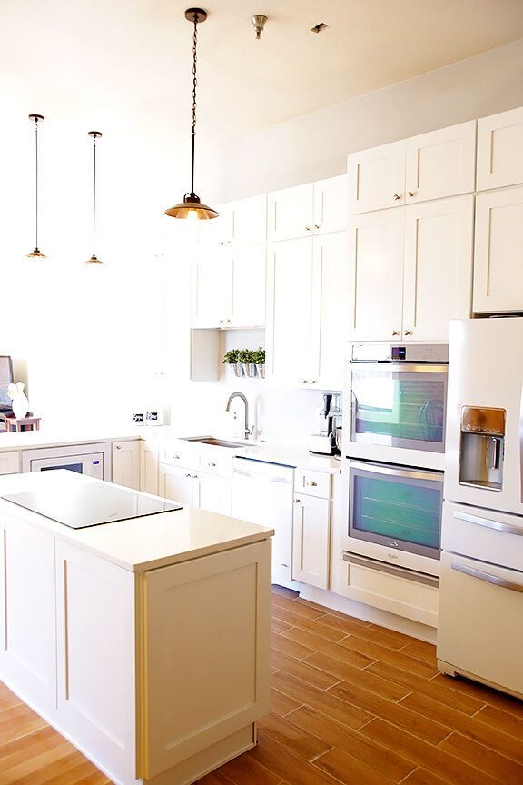 Kitchen Remodel Whirlpool White Ice Liances Gimmesomeoven