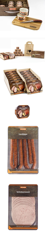 REHM Fleischwaren - Packaging Design