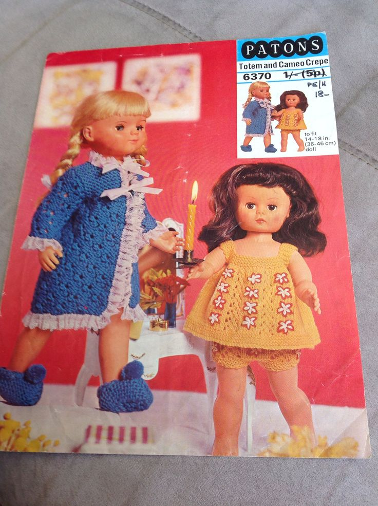 Vintage Knitting Patterns Dolls Clothes : 17 Best images about Vintage knitting patterns on ...