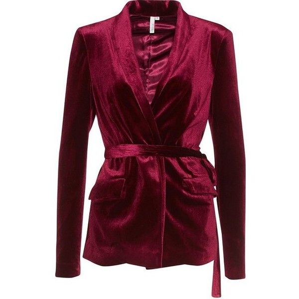 Have It All Velvet Blazer ❤ liked on Polyvore featuring outerwear, jackets, blazers, blazer jacket, velvet jacket, velvet blazer, purple velvet blazer and purple blazer jacket