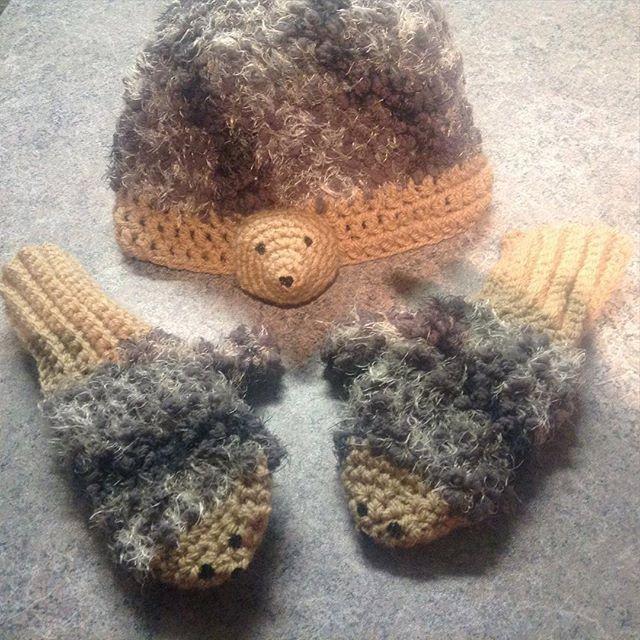 A personal favorite from my Etsy shop https://www.etsy.com/ca/listing/263921412/pdf-crochet-hedgehog-mitten-pattern