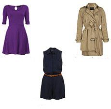 Топы, рубашки, платья, свитера, жакеты для типа фигуры Перевернутый треугольник