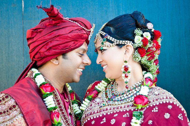 Tamil Bridal Hair and Garlands by Mark & Clint