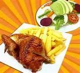 009 - El ser humano ha tenido una intensa relación con las aves. En la economía humana las aves de corral y las cinegéticas son fuentes de alimento. El pollo a la brasa en Perú es un plato muy popular en la gastronomia local.