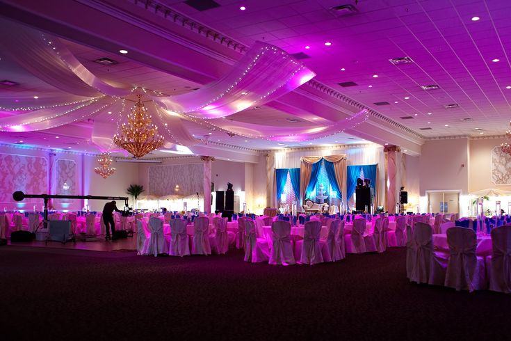 Banquet Hall Wedding Decor Alternative Wedding
