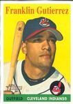 The Trading Card Database | Franklin Gutierrez - 2007 Cards