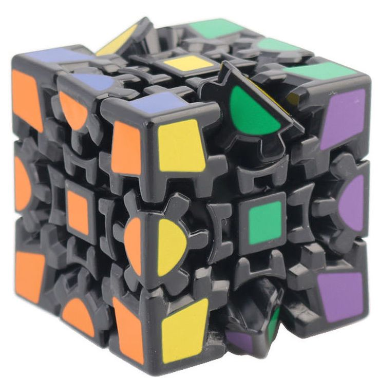Toy Gearwheel 6 sides Rubik's Cube Magic Combination 3D Gear Cube Speed Puzzle #Unbranded